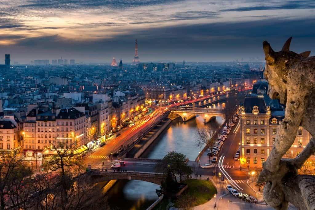 views of Paris france