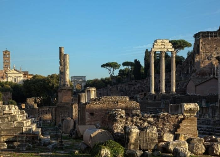 The Forum In Rome Italy