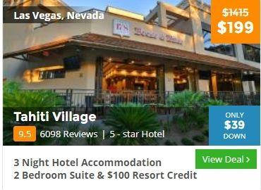 Solo travel deal for Las vegas