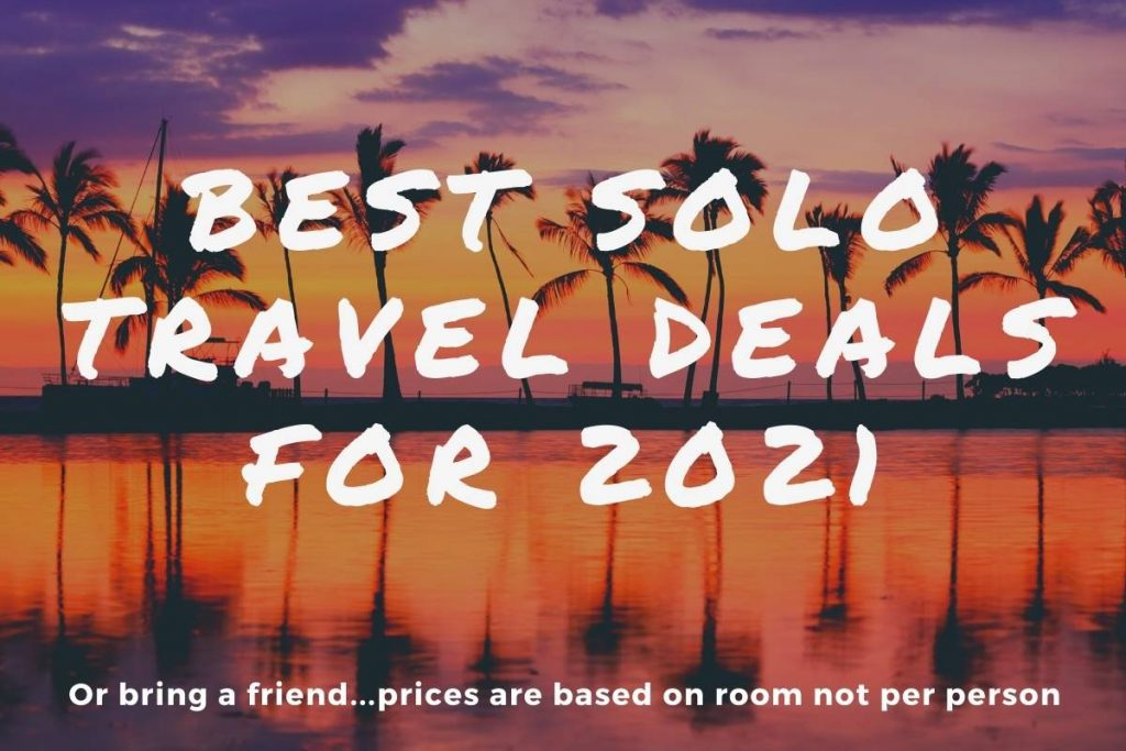 best solo travel deals for 2021