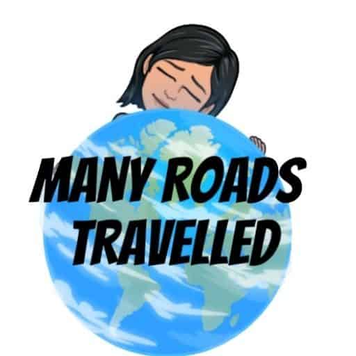 Many Roads Travelled Travel Podcast Logo