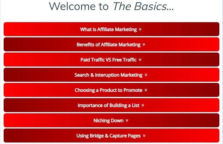 free affiliate marketing training inside rapid profit machine