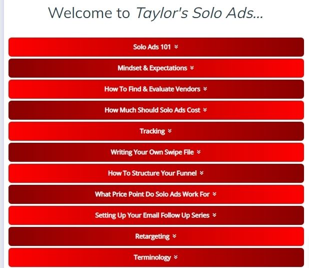 free solo ads training